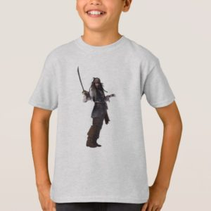 Jack Sparrow Standing with Sword T-Shirt