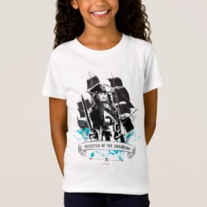 Jack Sparrow - Trickster of the Caribbean T-Shirt