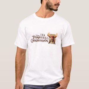 Pirates of the Caribbean Skull torches Logo Disney T-Shirt