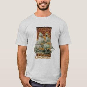 Pirates of the Caribbean Poster Art Disney T-Shirt