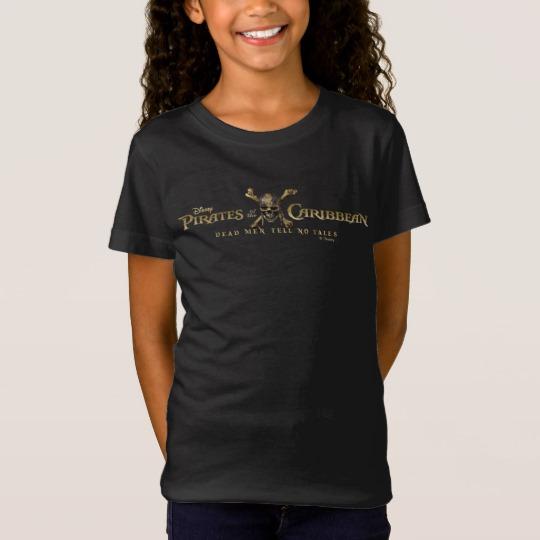 d1738b0b9 Pirates of the Caribbean 5 Skull Logo T-Shirt - Custom Fan Art