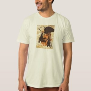 Pirates of the Caribbean Jack Sparrow graphic T-Shirt