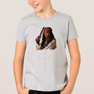 Pirates of the Caribbean Jack Sparrow with Gun T-Shirt