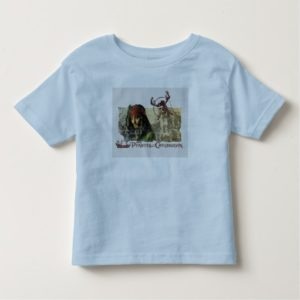 Pirates of the Caribbean Movie Art Disney Toddler T-shirt