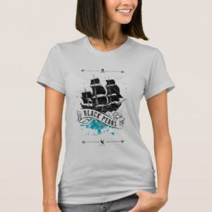 Pirates of the Caribbean 5   Black Pearl T-Shirt
