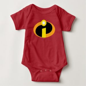 The Incredibles Logo Baby Bodysuit