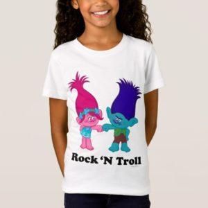 Trolls   Poppy & Branch - Rock 'N Troll T-Shirt