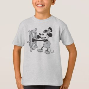 Classic Mickey   Steamboat Willie T-Shirt