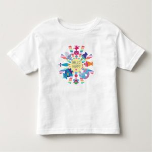 Trolls | Snack Pack Rainbow Sun Toddler T-shirt