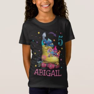 Trolls Snack Pack Birthday T-Shirt