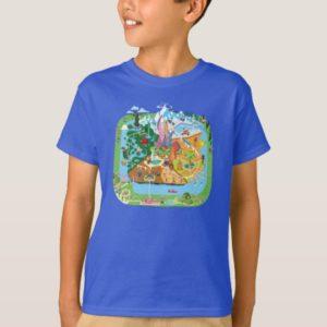 Zootopia   City Map T-Shirt