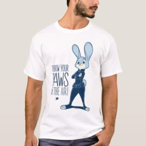 Zootopia   Judy Hopps - Paws in the Air! T-Shirt