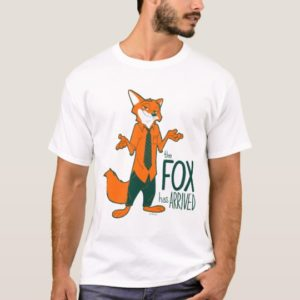 Zootopia | Nick Wilde - The Fox has Arrived T-Shirt