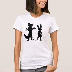 Zootopia | Judy & Nick Silhouette T-Shirt