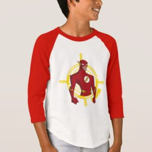 Justice League Action | Flash Character Art T-Shirt