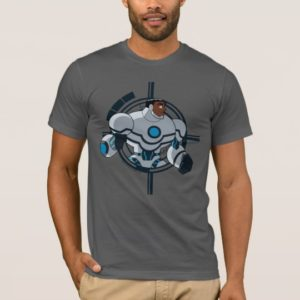 Justice League Action   Cyborg Character Art T-Shirt