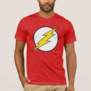 Justice League Action | Flash Lightning Bolt Logo T-Shirt