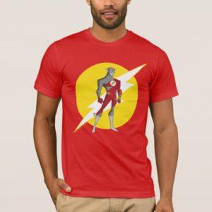 Justice League Action   Flash Over Lightning Bolt T-Shirt