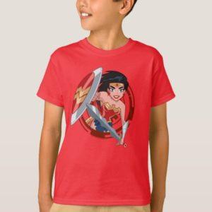 Justice League Action   Wonder Woman Character Art T-Shirt