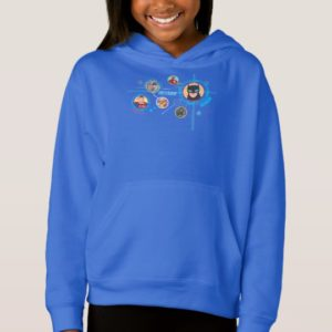 Justice League Action | Stand By For Action Hoodie