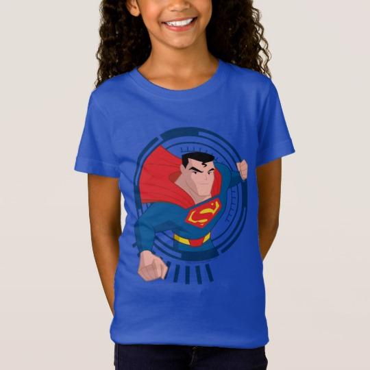 Justice League Action | Superman Character Art T-Shirt