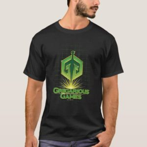 Ready Player One | Gregarious Games Logo T-Shirt