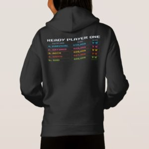 Ready Player One | High Score Leaderboard Hoodie