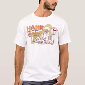 Hank | Live in a Glass Box Alone T-Shirt