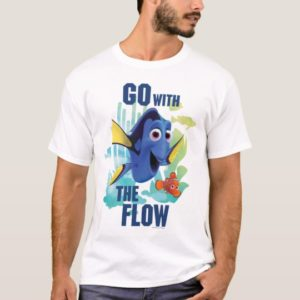 Dory & Nemo | Go with the Flow Watercolor Graphic T-Shirt
