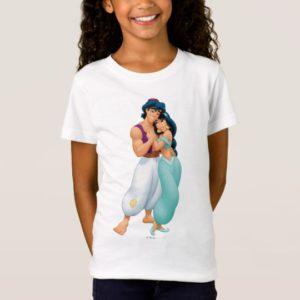 Aladdin and Jasmine Hugging 2 T-Shirt