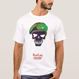 Suicide Squad | Rick Flag Head Icon T-Shirt