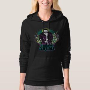 Suicide Squad | Joker Retro Rock Graphic Hoodie