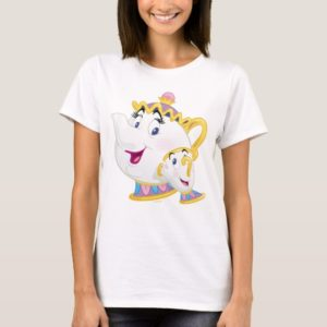 Beauty And The Beast | Mrs. Potts And Chip T-Shirt