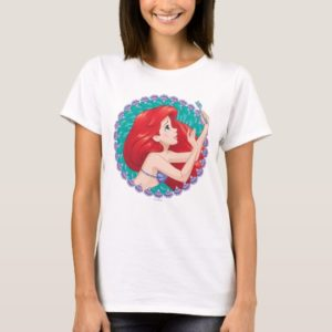 Ariel in Seashell Frame T-Shirt