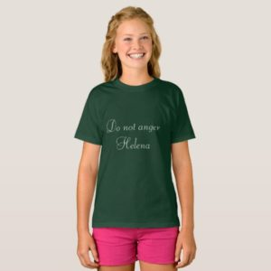 Do not anger Helena from Orphan Black tv show T-Shirt