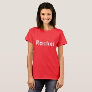 Rachel,Orphan Black character,fun font T-Shirt
