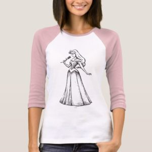 Sleeping Beauty | Aurora - Vintage Rose T-Shirt