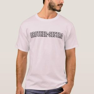 Brother-Sestra tee