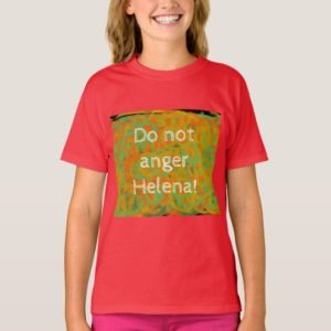 orphan Black do not anger helena abstract art T-Shirt