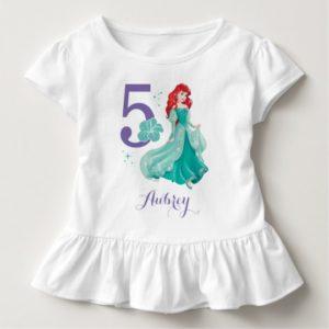 Disney Princess | Ariel Birthday Toddler T-shirt