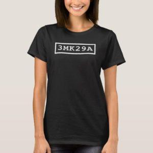 Orphan Black serial: 3MK29A T-Shirt