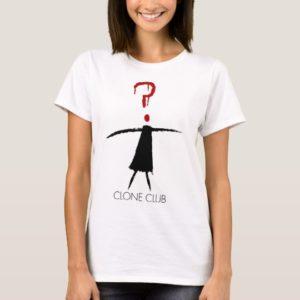 Clone Club Stick Figure from Orphan Black T-Shirt