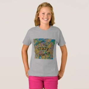 follow the crazy science Orphan Black T-Shirt