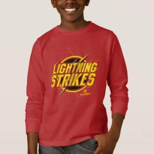 "The Flash   ""Lightning Strikes"" Graphic T-Shirt"