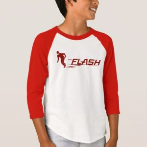 The Flash | Super Hero Name Logo T-Shirt