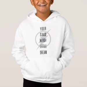"""The Flash   """"Your Sad Nerdy Little Dream"""" Hoodie"""