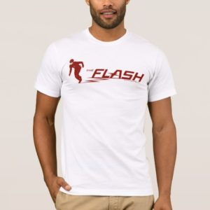The Flash | Super Hero Name Logo T-Shirt