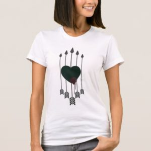 Arrow   Arrows Shot Through Heart T-Shirt