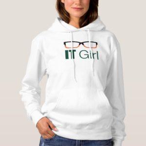 Arrow | IT Girl Glasses Graphic Hoodie