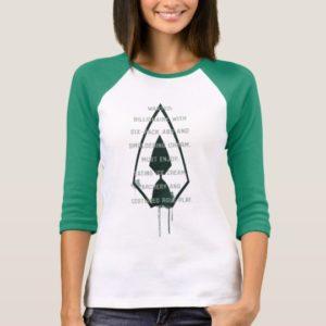 Arrow   Green Arrow Parody Wanted Post T-Shirt